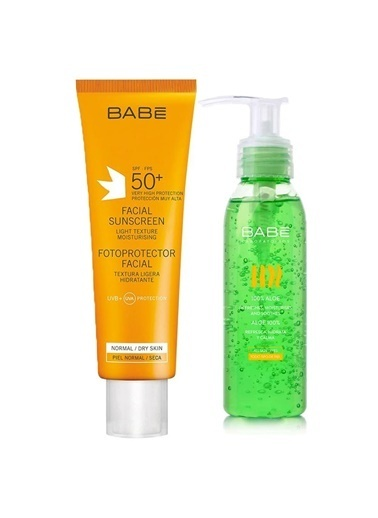 Babe Babe Facial SPF50+ Sunscreen 50ml Set Renksiz